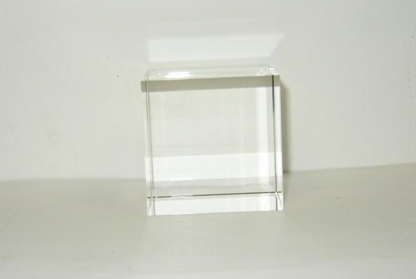 Optical Glass Cube 10 cm