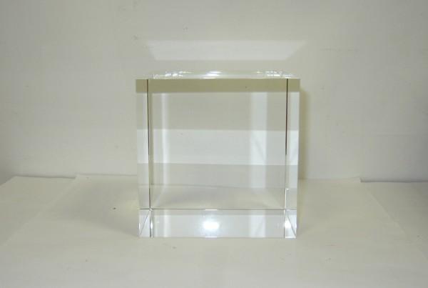 Optical Glass Cube 11 cm