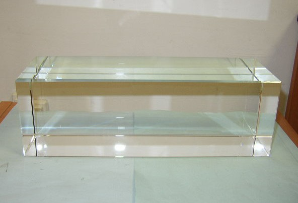 Transparent Optical Glass Rectangle