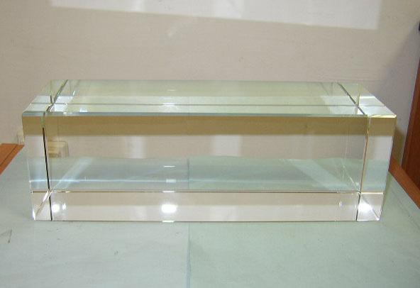Transparent Optical Glass Rectangle