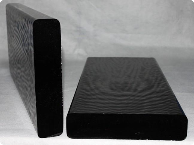 grey glass slab