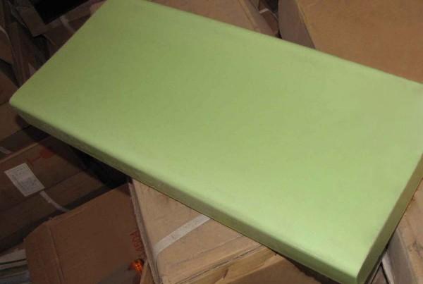 Milky Green Glass Slab