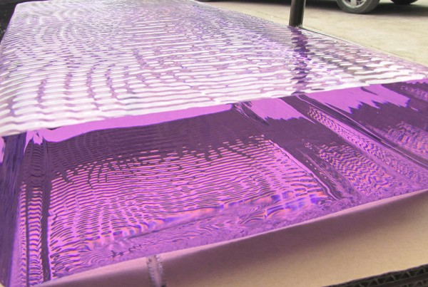 Purple Glass Slab