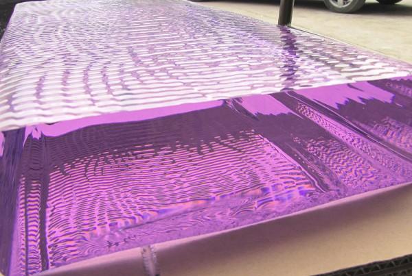 Purple Glass Slab