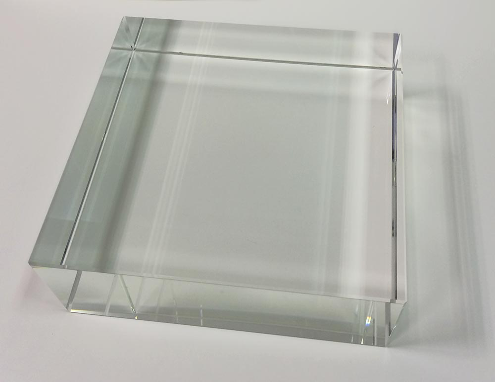 Square Glass Stand