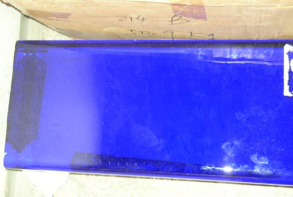 ultramarin glass slab